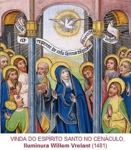 VindaDoEspiritoSantoNo Cenaculo