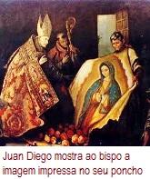 JuanDiegoMostraAoBispoAImagemImpressa