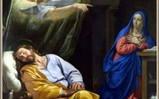 22 dez 2019 Jesus nascerá de Maria, noiva de José, filho de David